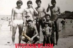 Уникална снимка! Гибона и Боби Михайлов на море в Китен!