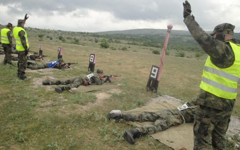 Отбор от 38 батальон за ЯХБЗЕ взе участие в учение (СНИМКИ)