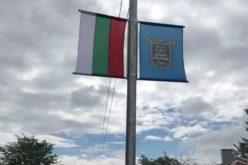 Община Елин Пелин монтира знамена на входовете на града