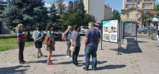 Изложба за изграждането на зелен коридор беше представена по проект УРБиНАТ