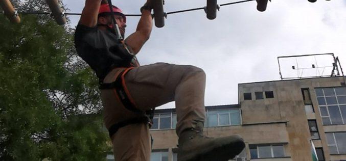 Доброволният отряд в Елин Пелин премина обучение за защита от бедствия и аварии