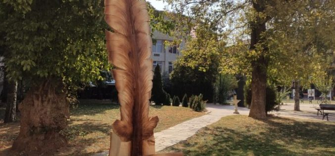 Скулптури от дърво радват жителите на Елин Пелин (СНИМКИ)