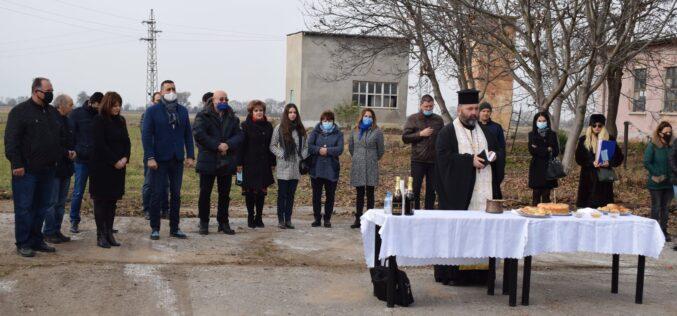 Направиха първа копка за водопровод Лесново – гара Елин Пелин – Нови хан (СНИМКИ)