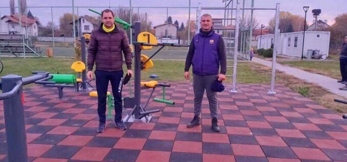 С. Мусачево се радва на площадка за стрийт фитнес (СНИМКИ)