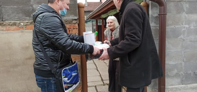 ВМРО зарадва пострадали жители на Требич