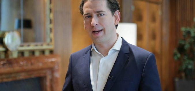Себастиан Курц към Бойко Борисов: Успех на парламентарните избори, благодаря ти за отличното партньорство