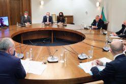 Председателят на ГЕРБ и премиер Бойко Борисов проведе среща с ръководството на Американската търговка камара в България