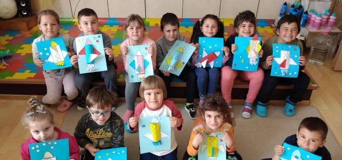 Децата от Мусачево отбелязаха Деня на космонавтиката (СНИМКИ)