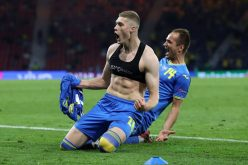 Украйна шокира шведите с гол в последните секунди (ВИДЕО)
