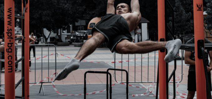 Турнир по стрийт фитнес се проведе в Северния парк