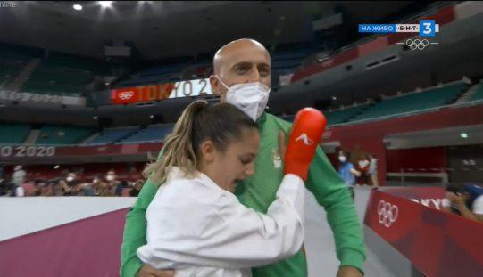 Нов медал за България от Олимпиадата! Ивет Горанова мачка в каратето!