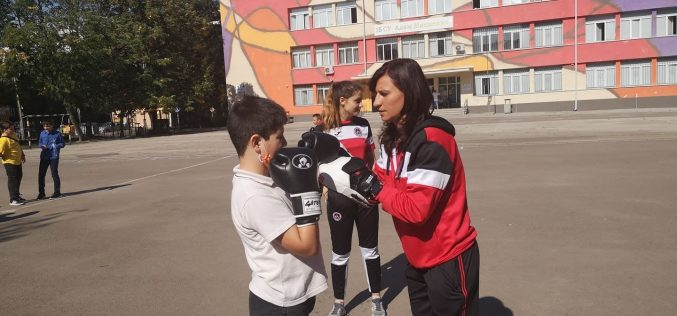 """Стойка Кръстева е лице на кампанията """"Надежда за шампиони"""" (СНИМКИ)"""