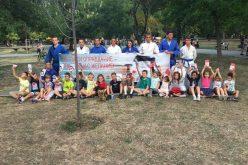 "Деца видяха демонстрации по джудо и в парк ""Света Троица"" (СНИМКИ и ВИДЕО)"